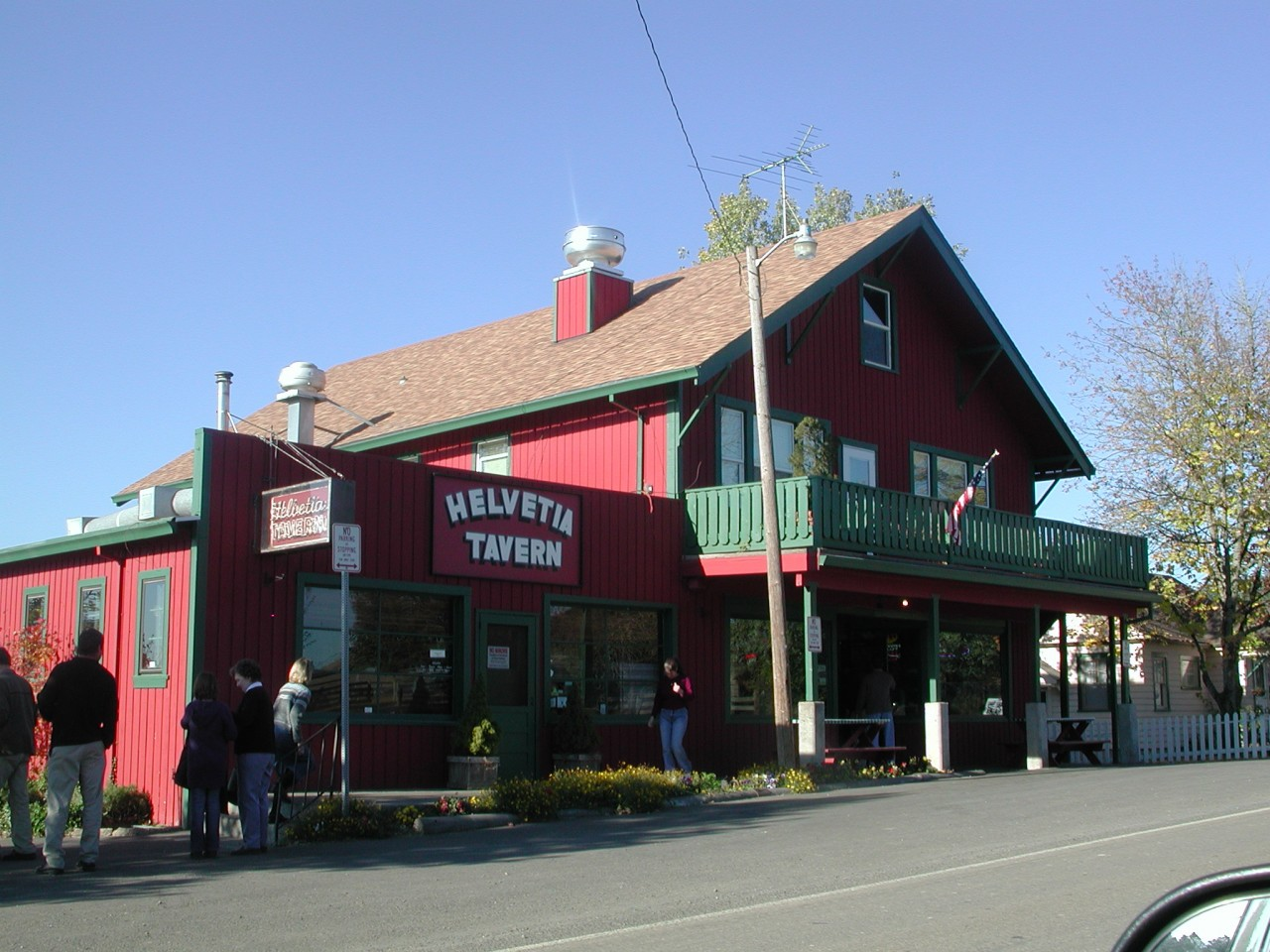 Helvetia Tavern in the Tualatin Valley