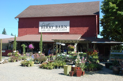 Smith Berry Barn in Hillsboro in the Tualatin Valley