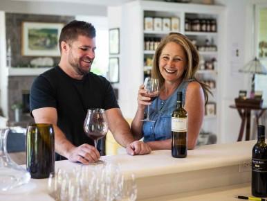 David Hill Vineyards Tasting Room