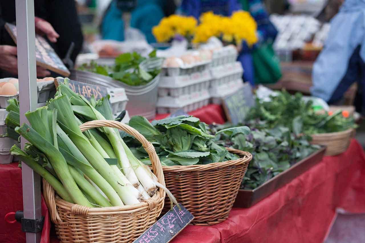 Beaverton Farmers Market in the Tualatin Valley