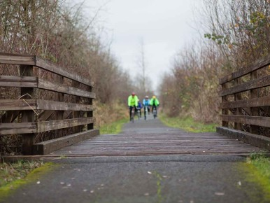 Bicycling Banks Vernonia Trail