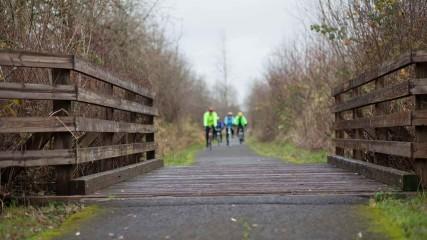 Bicycling Banks Vernonia Trail