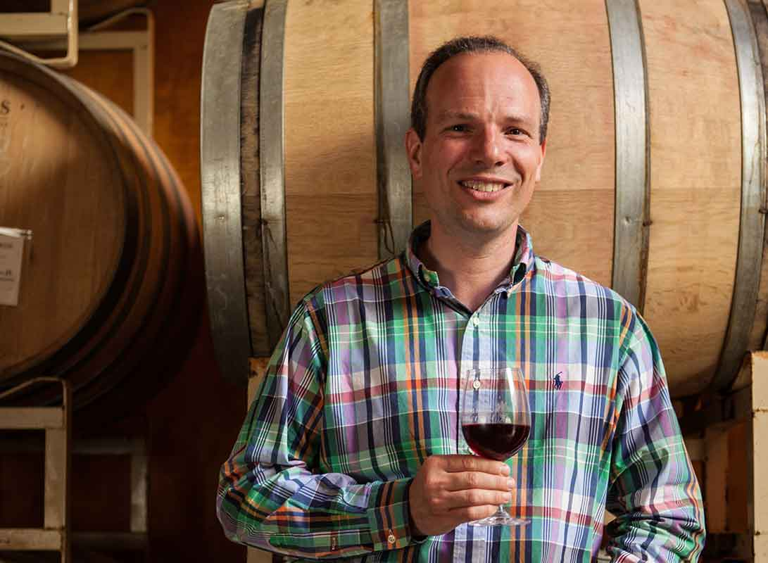 Alfredo of Apolloni Vineyards, Forest Grove, OR in the Tualatin Valley