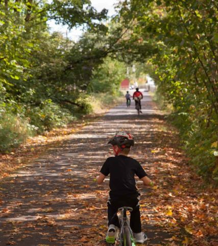 Cycling Banks-Vernonia State Trail