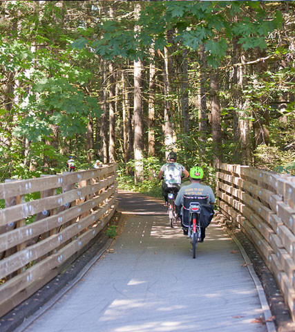 Banks-Vernonia State Trail Cycling