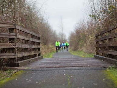 Bicycling Banks-Vernonia Trail