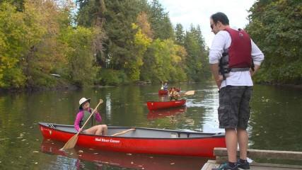 Family Kayak Video Still