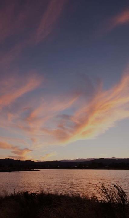 Fernhill sunset dark
