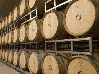 Hawks View Cellars Barrels