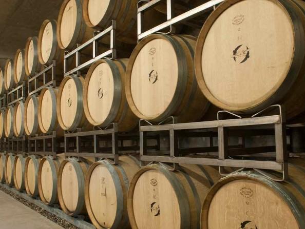 Hawks View Cellars Barrels