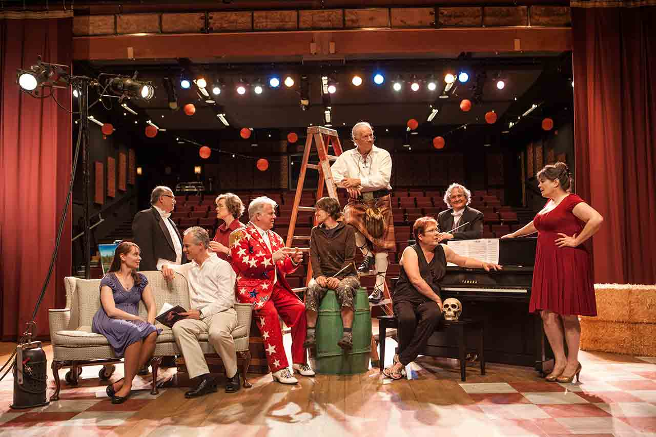 Oregon Theatre - Broadway Rose in Tigard in the Tualatin Valley