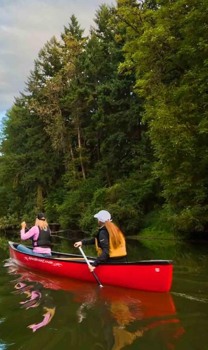 Canoe Tualatin River