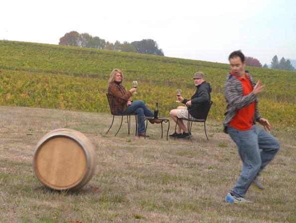 Montinore Barrel video Still