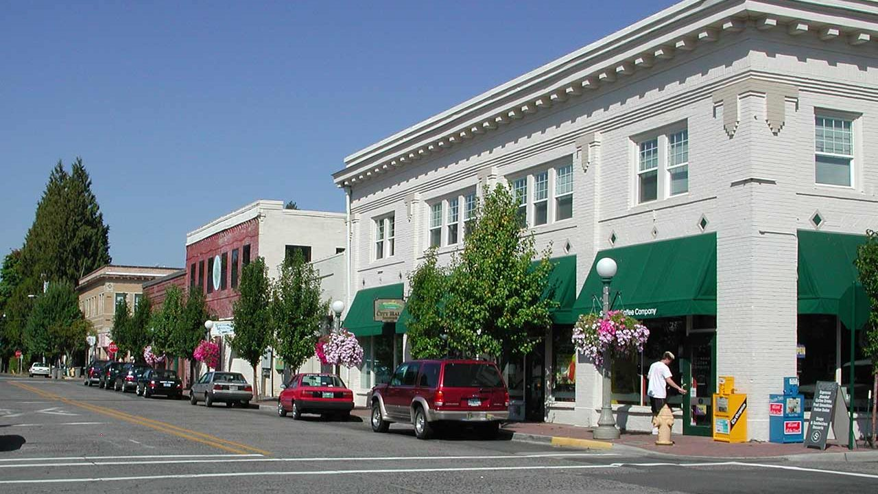 Sherwood downtown