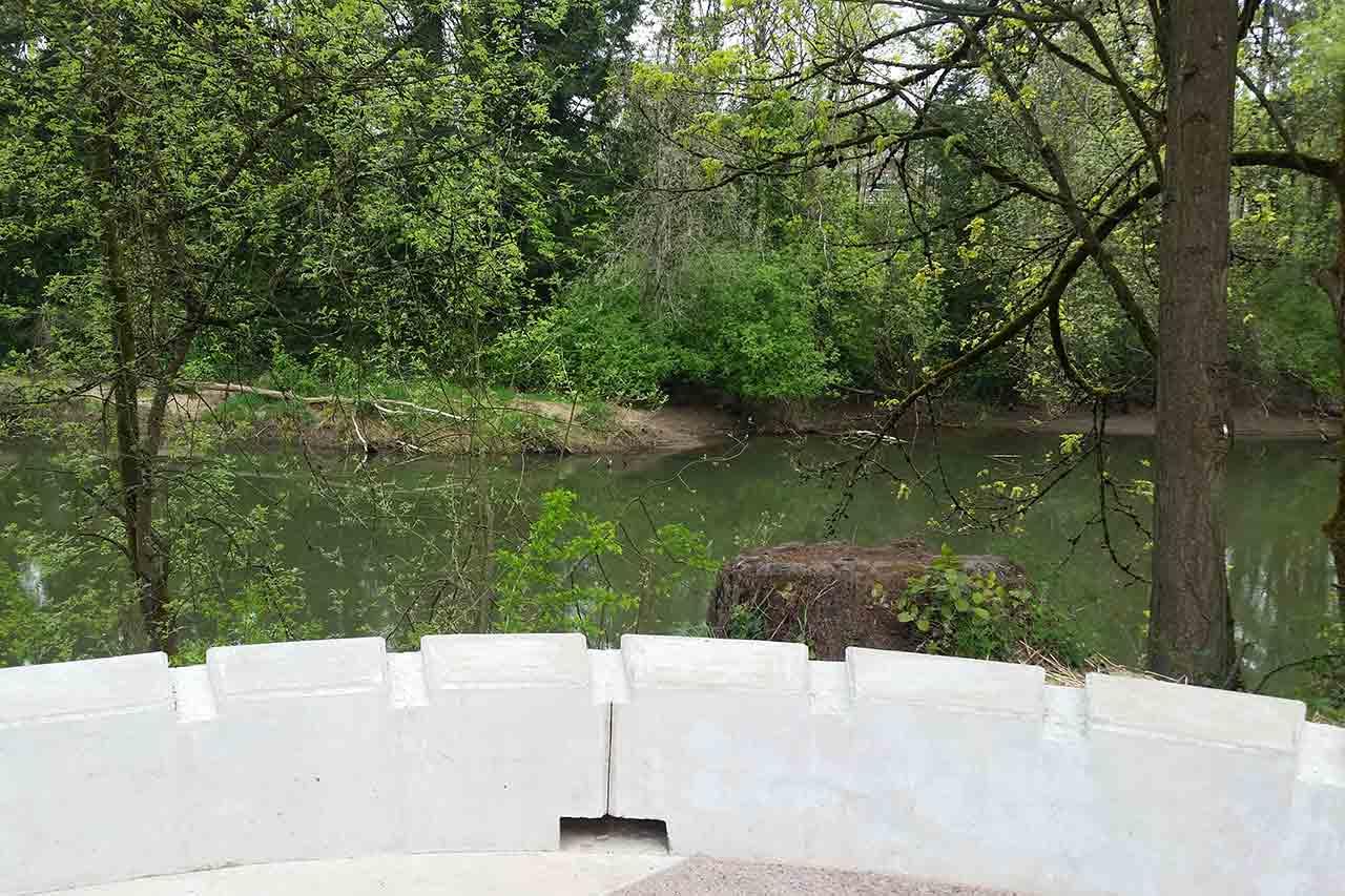 Oregon bike routes Tualatin River Greenway