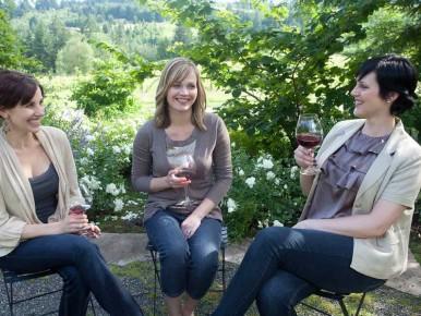 Wine Tasting Garden Vineyards