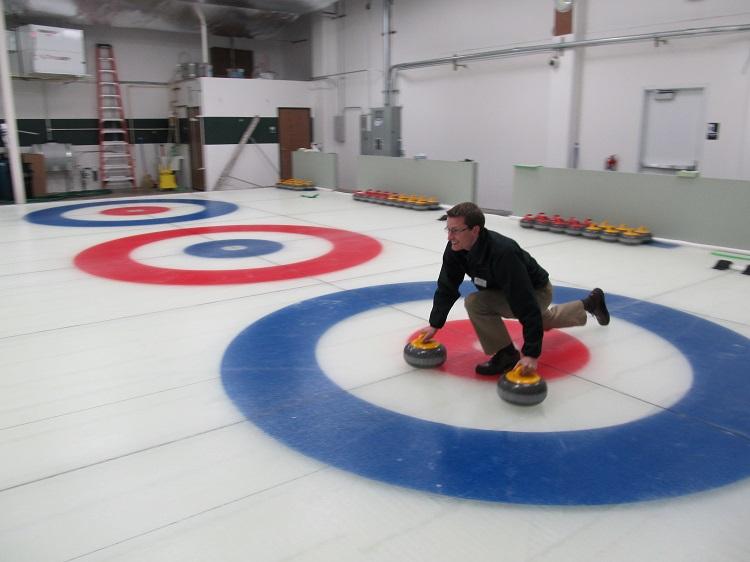 Evergreen Curling Club, Beaverton, Oregon