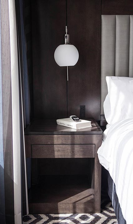Bedside Hotel Room Lodging