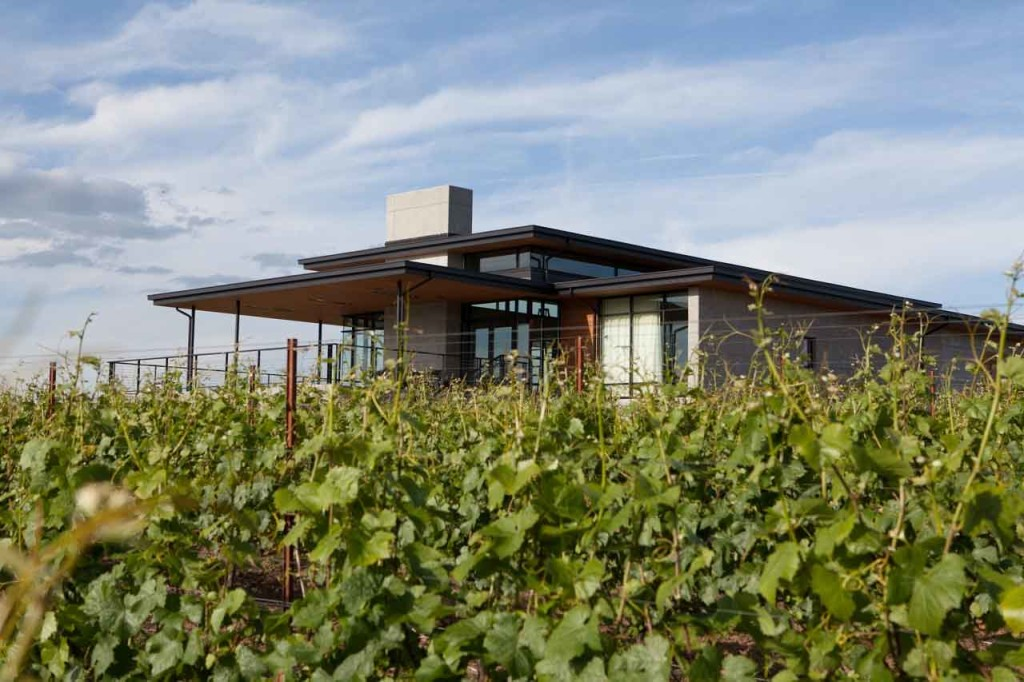 vineyards oregon - Ponzi in Sherwood in the Tualatin Valley