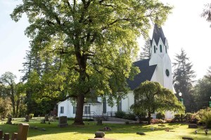 Historic Old Scotch Church in Hillsboro in Oregon's Tualatin Valley, Oregon historic sites