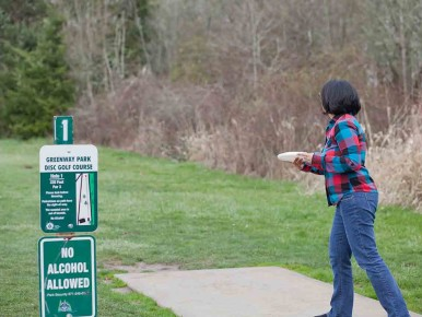 Disc Golf Fanno Creek