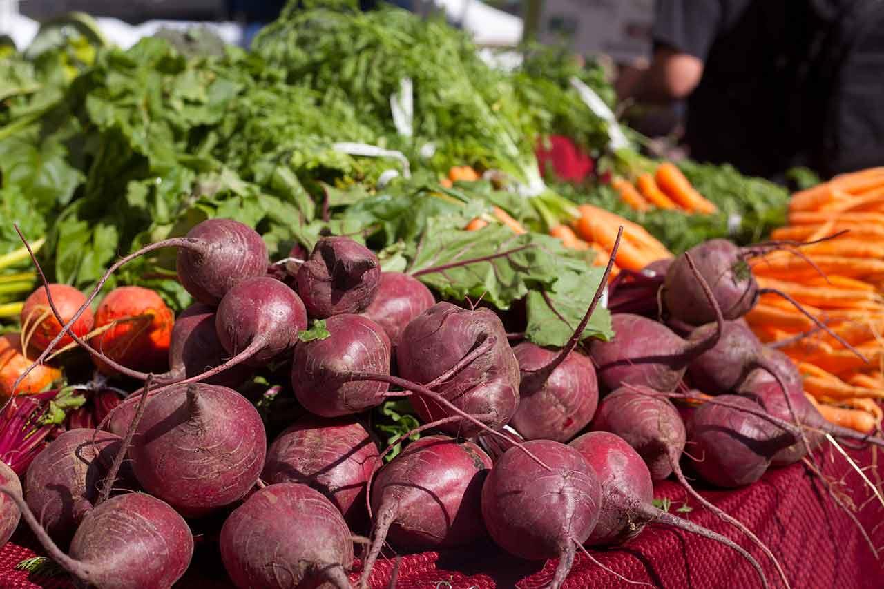 Vegetables at Beaverton Farmers Market