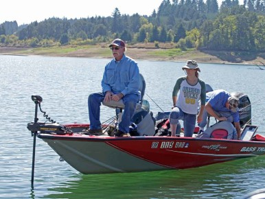 Hagg Lake Fishing