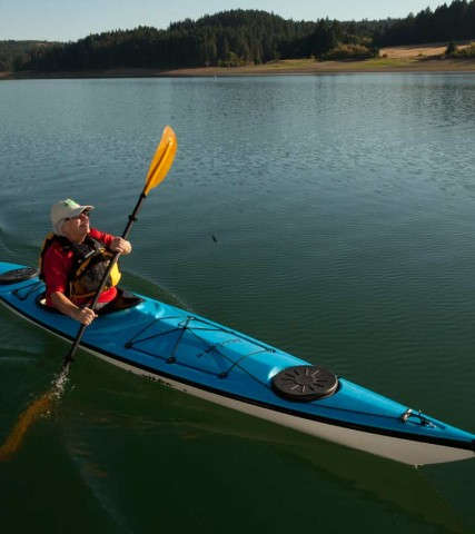 Kayak Hagg Lake