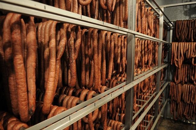 Sausages at Verboort Sausage Festival