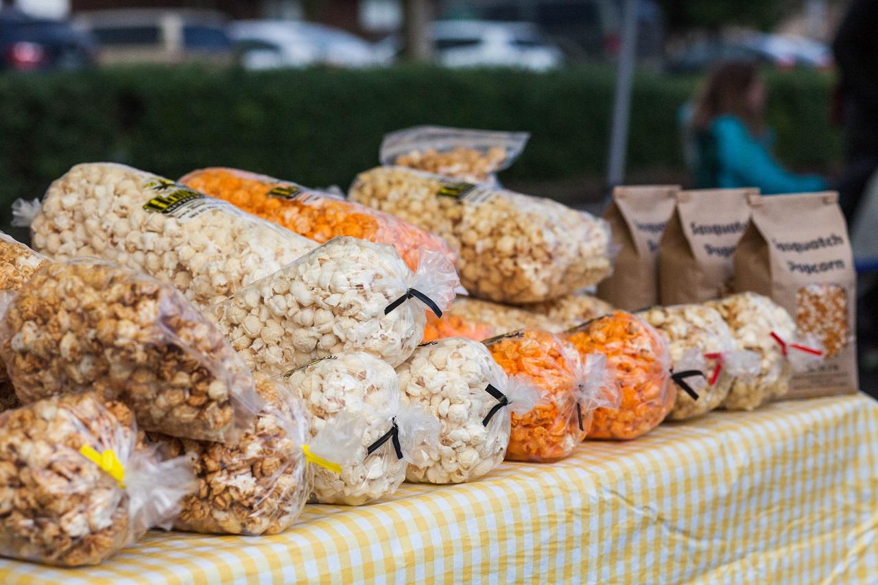 Popcorn at the Beaverton Winter Farmers Market