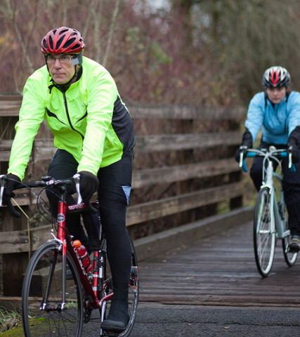 Banks Vernonia State Trail Cyclist