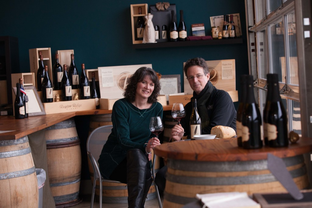 Scott and Annie Shull - Raptor Ridge Winery in the Tualatin Valley
