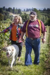Plum Hill Vineyards in Gaston in the Tualatin Valley