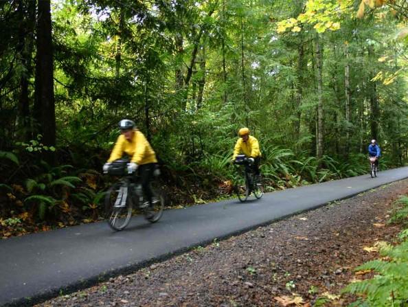 Banks Vernonia State Trail Biking