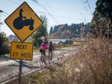 Oregon Cycling by Level