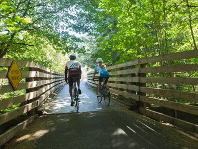 Fall Cycling Close to Portland