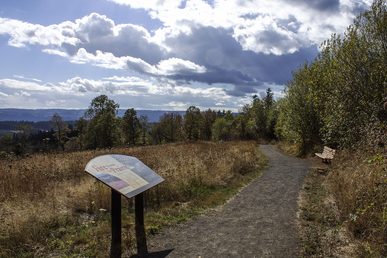 Cooper Mountain Nature Park in the Tualatin Valley