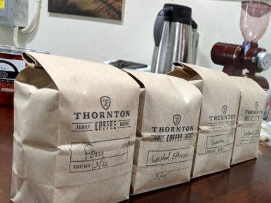 Thornton Family Coffee Roasters Knows Coffee