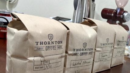 Thornton Family Coffee Roasters Knows Coffee
